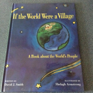 If the World Were a Village - hard cover book