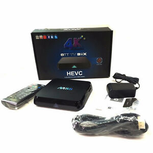 M8S Android Tv Box COMBO - WEEKEND SPECIAL $110- Kodi  LOADED