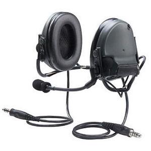 NIB-3M-Peltor-Comtac-III-Dual-PTT-ACH-Neckband-Talk-Thru-Tactical-Headset