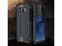 For Samsung Galaxy S8 / S8 Plus Luxuly Rugged Armor Shockproof Bumper Case Cover