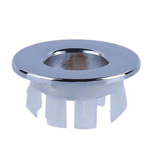 Overflow Cap For Bathroom Kitchen Vanity Basin Sink Hole Rou