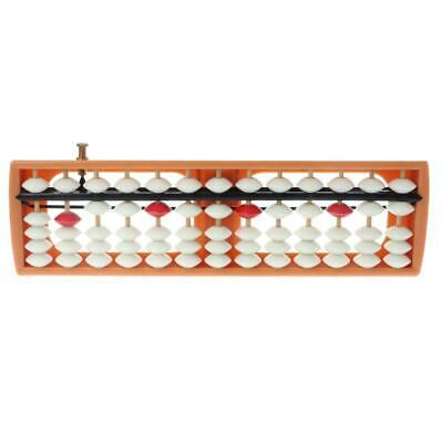Portable 13 Column Abacus Arithmetic Soroban Number Counting Math Learning Tool