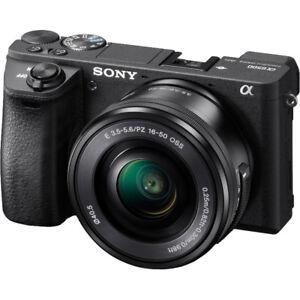 Sony A6500 + 16-50mm + Meike Battery Grip + Extra Battery