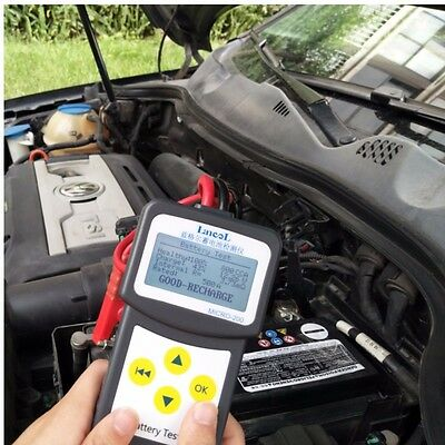 12V Digital Automotive Car Battery Tester Analyzer with printing function