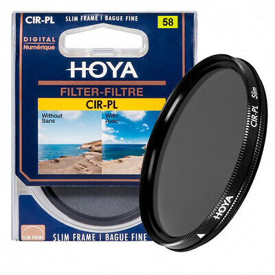 HOYA 58MM CIR-PL SLIM (PHL) FILTRO POLARIZZATORE CIRCOLARE - ORIGINALE- NO CINA!