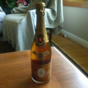1986 Cristal Champagne