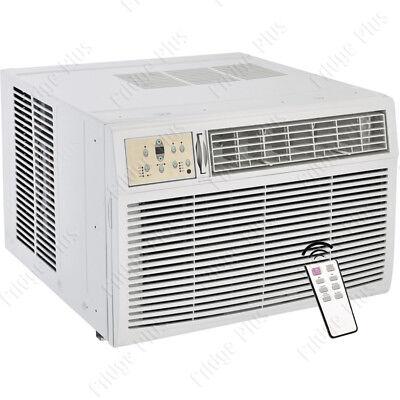 8000 BTU Window AC Unit w/ Heating, 115V Standard Air Conditioner Fan & Remote
