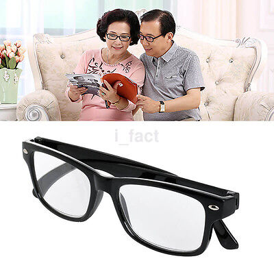 Black Ladies Gentleman Unisex Retro Computer Reading Glasses +1.00 to +4.00 US