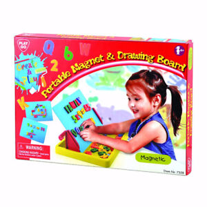 Tableau magnétique PlayGo Portable Magnet and Drawing Board