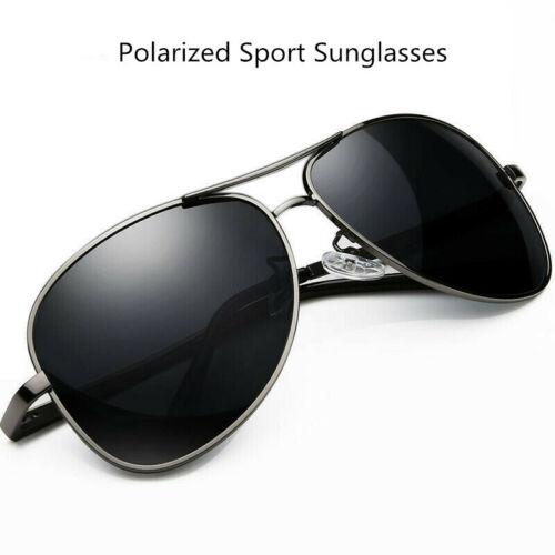 Polarized Aviator Pilot Sunglasses Sport Running Fishing Golf Driving Glasses UV