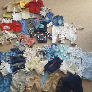 Baby Boy Clothing Lot 3-6 months GUC