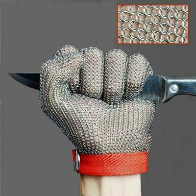 Stechschutzhandschuhe Kettenhandschuh Sicherheits-Handschuh Einzeln Metzger M/M