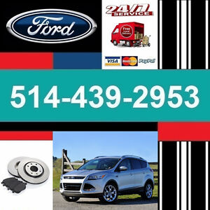 Ford Escape ► Brakes and Rotors • Freins et Disques