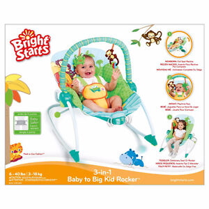 Bright Starts 3-in-1 Baby to Big Kid Rocker