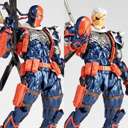 "New DC Comics Deathstroke 7/"" Yamaguchi Revoltech Series Action PVC Figure No BOX"