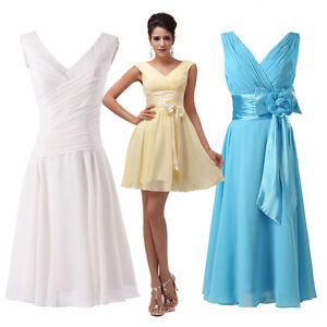 Cheap short prom dresses party evening wedding ball gown for Cheap wedding dresses ebay