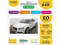 Audi A3 2.0TDI S Line FROM £49 PER WEEK