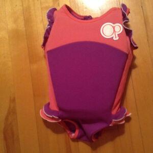 maillot de bain avec flotteur intégré