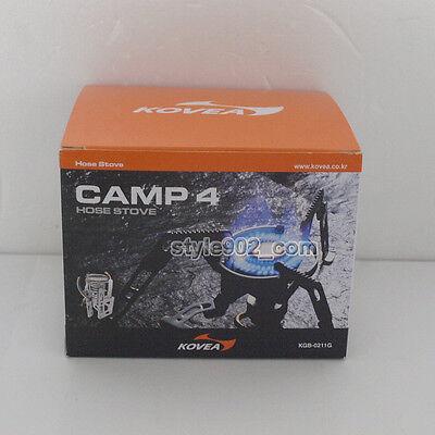 KOVEA Moonwalker Camping CAMP-4 KB-0211 Hiking Cooking GAS Stove KB-0211G