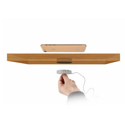embedded flushbonading stealth hidden wireless charger QI general desk table for sale  China
