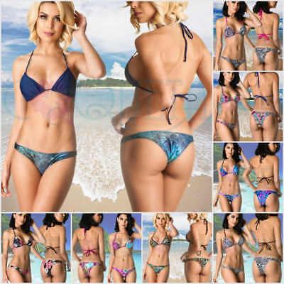 Coqueta Women's Hipster Low Rise  Tri Top Sweet Heart Sexy Brazilian Bikini Set](Brazilian Dessert)
