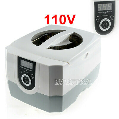 Digital Ultrasonic Washing Machine Professional Cleaner Glassjewelrydental Use