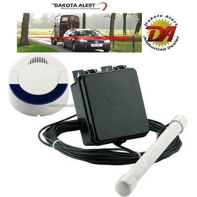 Wireless Probe Driveway (DAKOTA ALERT DCPA-4000 WIRELESS VEHICLE DETECT PROBE DRIVEWAY SECURITY ALARM)