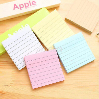 Sticky Notes Notebook Memo Pad Bookmark Paper Sticker Notepad Ca