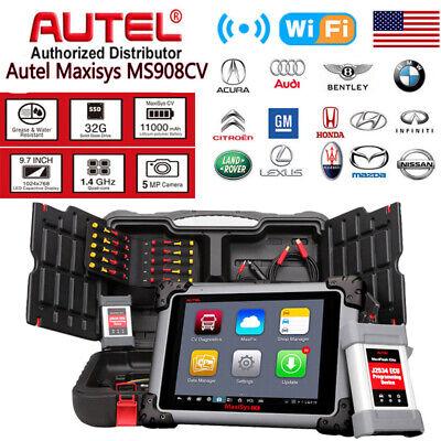 US Autel Maxisys CV 908CV Diagnostic Scanner Commercial Heavy Duty Diesel