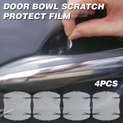 Door Handle Cup Anti Scratch Clear Paint Protector Film For SsangYong / Spartan -