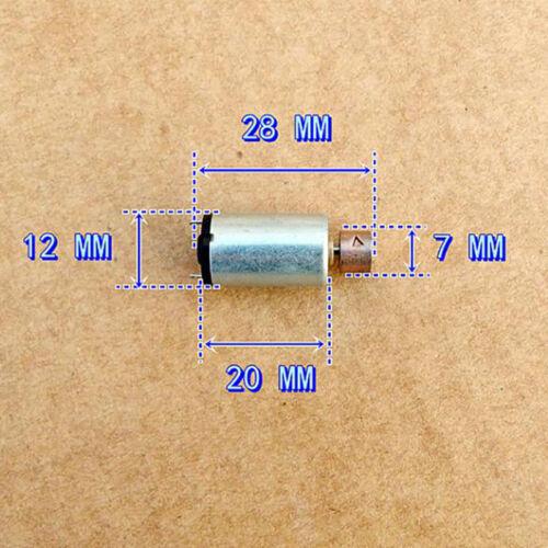 12mm DC 1V-3V Mini Round Vibration Vibrator Electric DC Motor Vibrating Massager
