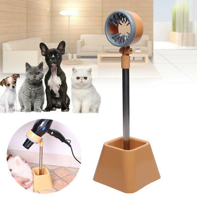 Portable Hair Dryer Stand Pet Dog Cat Grooming Dryer Stand Hands Free 180°