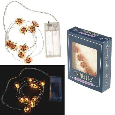 Kürbis LED Lichterkette,Kuerbis LED, halloween pumpkin led,citrouille - Led-halloween