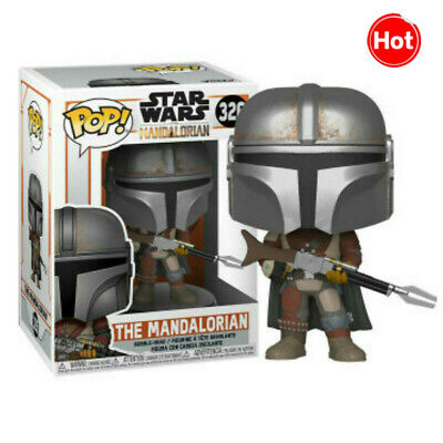 FUNKO POP Star Wars The Mandalorian 326# Action Figures Collection Model Toys