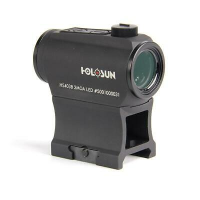 Holosun Paralow HS403B Red Dot Sight with Push Buttons and 50K Battery - Life Dot