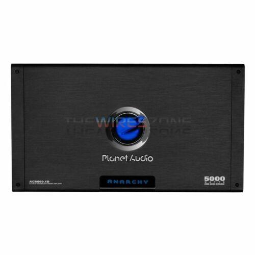 Planet Audio AC5000.1D Anarchy 5000 Watts Monoblock Class D Power Car Amplifier