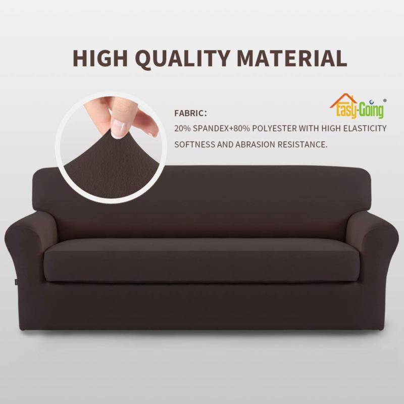 Easy-Going Pieces Stretch Sofa Slipcover