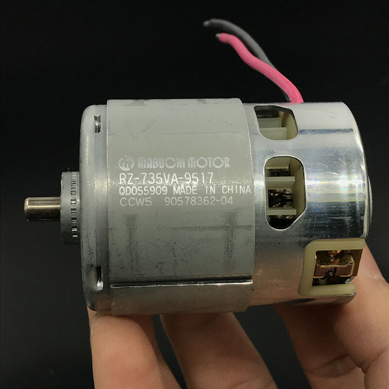 MABUCHI RZ-735VA-9517 DC 12V~18V High Power Drill Screwdriver Electric 735 Motor
