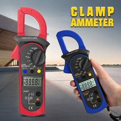 Digital Lcd Multimeter Tester Ac Dc Volt Ohm Amp Clamp Meter Auto Range Handheld