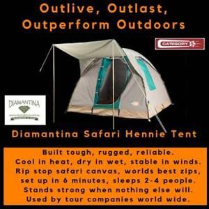 Diamantina Safari Hennie Tent - FREE FREIGHT *