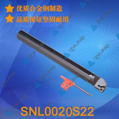 Snl 0020r22 Internal Threading Lathe Turning Tool Holder Boring Bar 22 Er