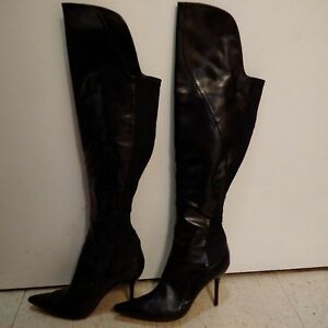 Boots over the knee high heels sexy from Le Chateau