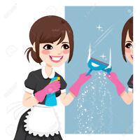 Entretien ménager (résidentiel ou bureaux)