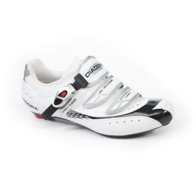 Schuhe Radsport DIADORA SPEEDRACER 2 Kohlenstoff Farbe Weiß schwarz Größe 41 07c7bcc667b