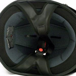VCAN V531 Solid Flat Black Large Half Helmet Cambridge Kitchener Area image 2