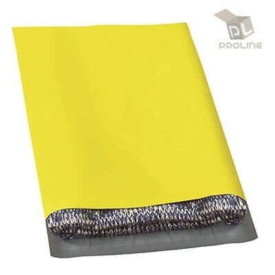 100 Poly Mailers 9x12 Shipping Bags Plastic Packaging Mailing Envelope Yellow