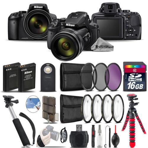 Nikon COOLPIX P900 Digital Camera + Spider Tripod + Extra