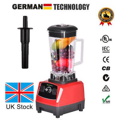 2L 2200W Commercial Grade Blender Mixer Juicer Processor Ice Fruit Blender UK