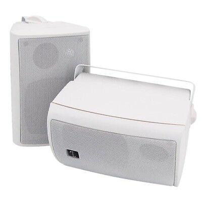 Dynavox PB-402 3-Wege Lautsprecher mit Wand- Deckenhalterung 160 W Weiß Paar