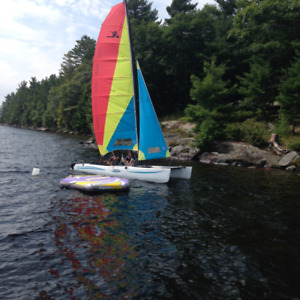 Fantastic Family Hobie Catamaran Sailboat